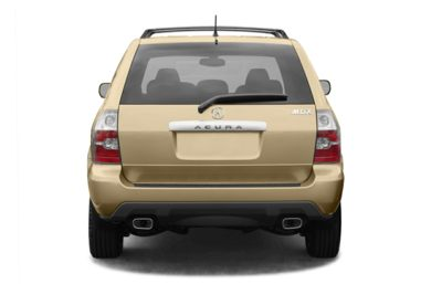 Rear Profile  2004 Acura MDX