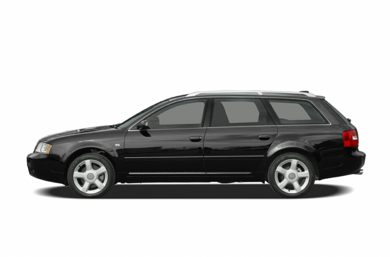 90 Degree Profile 2004 Audi A6