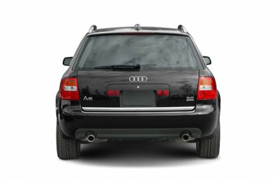 Rear Profile  2004 Audi A6
