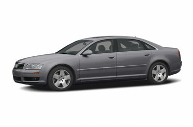 3/4 Front Glamour 2004 Audi A8