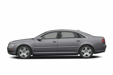90 Degree Profile 2004 Audi A8