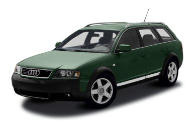 3/4 Front Glamour 2004 Audi allroad