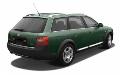 3/4 Rear Glamour  2004 Audi allroad