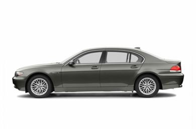 90 Degree Profile 2004 BMW 760