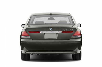 Rear Profile  2004 BMW 760