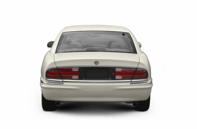 Rear Profile  2004 Buick Park Avenue