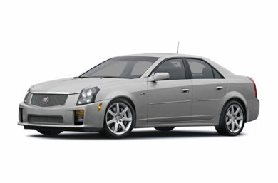 3/4 Front Glamour 2004 Cadillac CTS-V