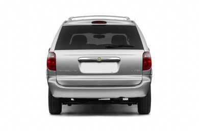 Rear Profile  2004 Chrysler Town & Country