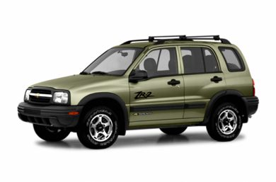 3/4 Front Glamour 2004 Chevrolet Tracker
