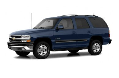 3/4 Front Glamour 2004 Chevrolet Tahoe