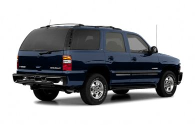 3/4 Rear Glamour  2004 Chevrolet Tahoe