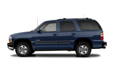 90 Degree Profile 2004 Chevrolet Tahoe