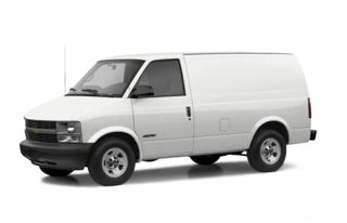 3/4 Front Glamour 2004 Chevrolet Astro