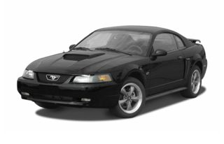 3/4 Front Glamour 2004 Ford Mustang