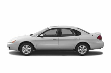 90 Degree Profile 2004 Ford Taurus