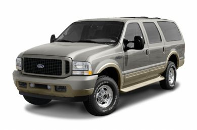 3/4 Front Glamour 2004 Ford Excursion