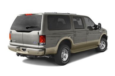 3/4 Rear Glamour  2004 Ford Excursion