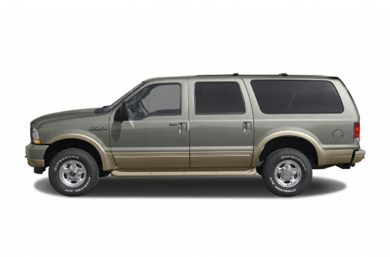 90 Degree Profile 2004 Ford Excursion