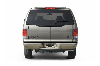 Rear Profile  2004 Ford Excursion