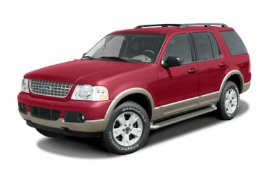 3/4 Front Glamour 2004 Ford Explorer