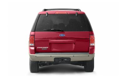 Rear Profile  2004 Ford Explorer