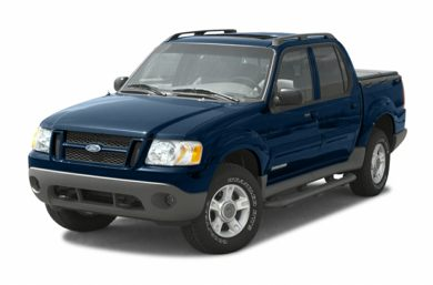 3/4 Front Glamour 2004 Ford Explorer Sport Trac