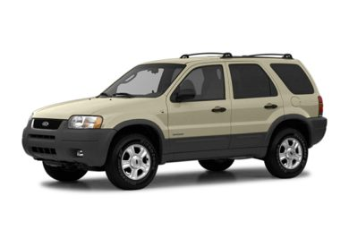 3/4 Front Glamour 2004 Ford Escape