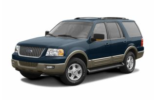 3/4 Front Glamour 2004 Ford Expedition