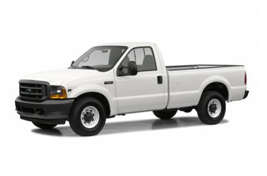 3/4 Front Glamour 2004 Ford F-250
