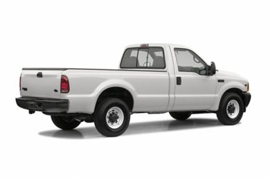 3/4 Rear Glamour  2004 Ford F-250