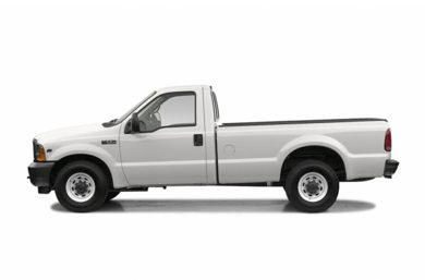 90 Degree Profile 2004 Ford F-250