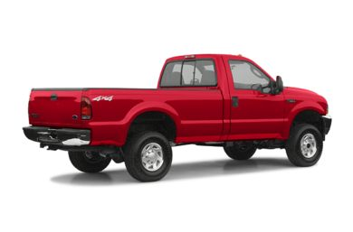 3/4 Rear Glamour  2004 Ford F-350