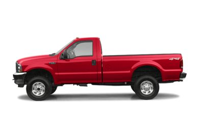 90 Degree Profile 2004 Ford F-350