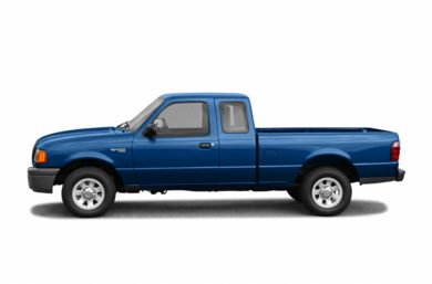 90 Degree Profile 2004 Ford Ranger