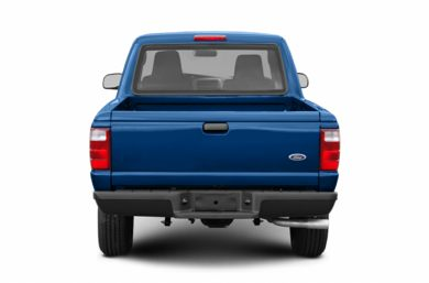 Rear Profile  2004 Ford Ranger
