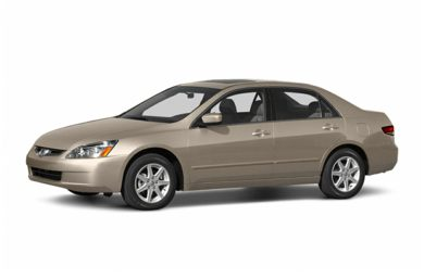 3/4 Front Glamour 2004 Honda Accord