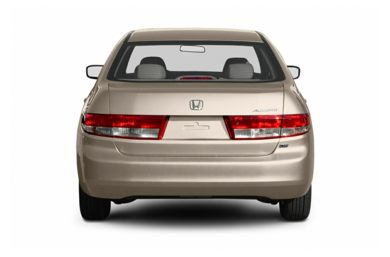 Rear Profile  2004 Honda Accord