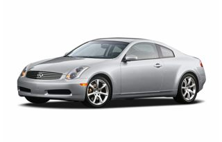 3/4 Front Glamour 2004 Infiniti G35