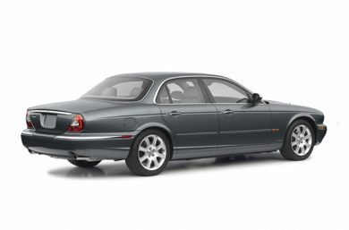 3/4 Rear Glamour  2004 Jaguar XJ