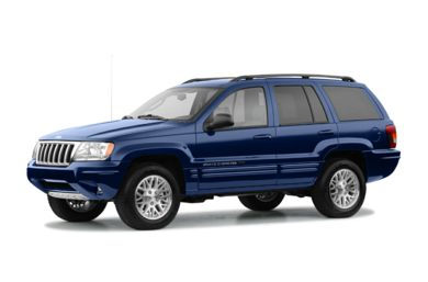 3/4 Front Glamour 2004 Jeep Grand Cherokee