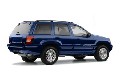 3/4 Rear Glamour  2004 Jeep Grand Cherokee