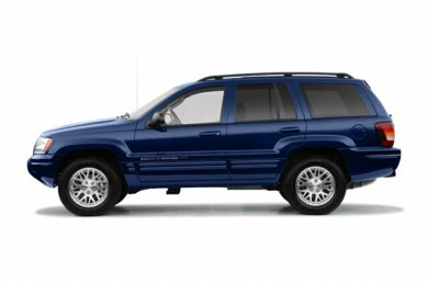 90 Degree Profile 2004 Jeep Grand Cherokee