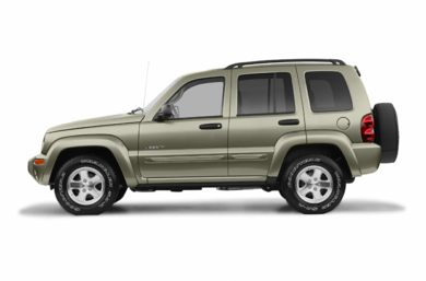 90 Degree Profile 2004 Jeep Liberty