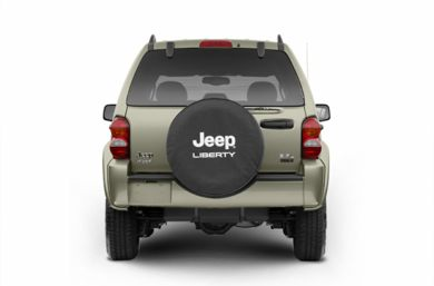 Rear Profile  2004 Jeep Liberty