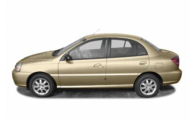 90 Degree Profile 2004 Kia Rio