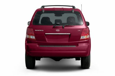 Rear Profile  2004 Kia Sorento