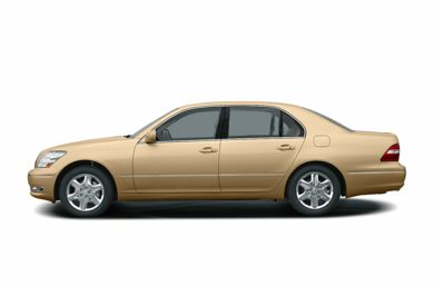 90 Degree Profile 2004 Lexus LS 430