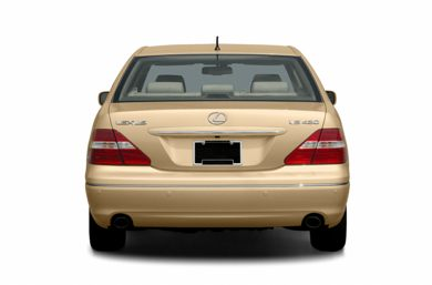 Rear Profile  2004 Lexus LS 430
