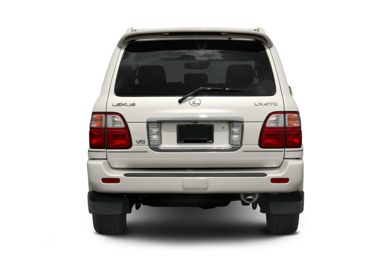 Rear Profile  2004 Lexus LX 470