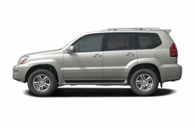 90 Degree Profile 2004 Lexus GX 470